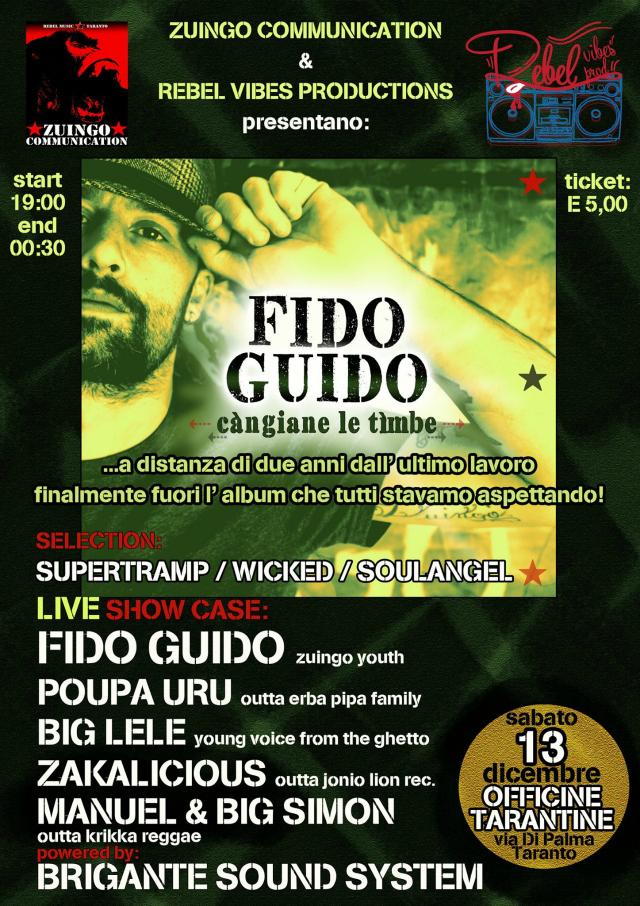 Càngiane le Tìmbe  FIDO GUIDO locandina