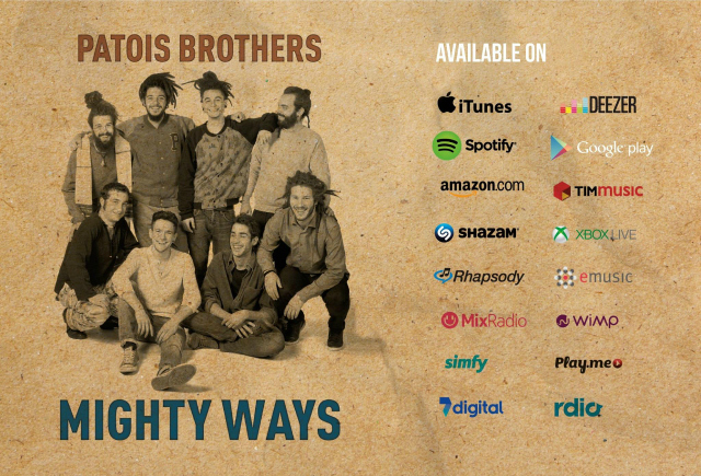 Patois Brothers Mighty Ways Banner 2