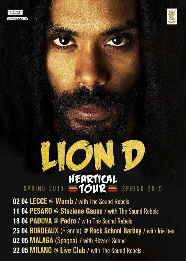 lion d heartical tour 2015