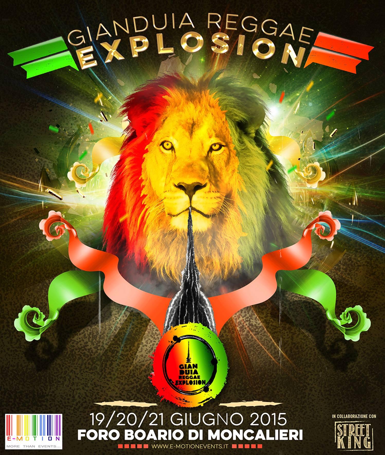 GIANDUIA REGGAE EXPLOSION 2015