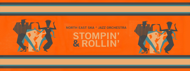 North East Ska*Jazz Orchestra presenta il primo disco  Stompin' and Rollin'