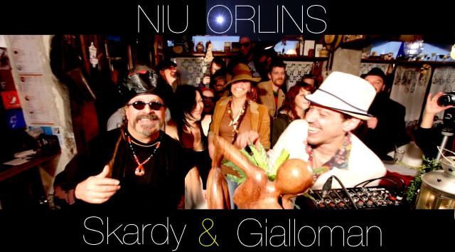 Giallo Man (feat. Sir Oliver Skardy) - Niu Orlins