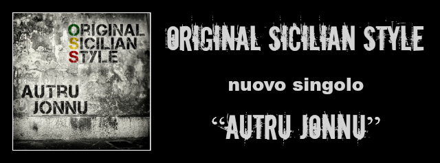 """Original Sicilian Style """"AUTRU JONNU banner"""""""