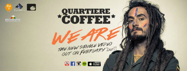 WE ARE Quartiere Coffee Banner