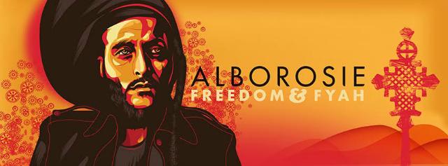 alborosie freedom & fyah banner